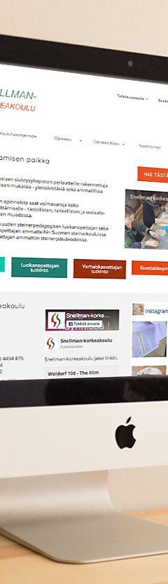 Nettisivujen suunnittelu ja toteutus